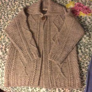 Carraigdonn Ireland NWOT One Button Sweater Jacket